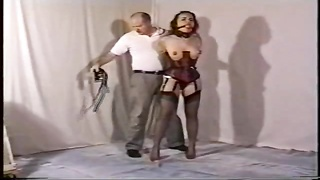 Dirty slave trainer is treating her large jugs get pleasure from a weird one Thumb