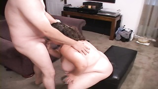 Cock-addicted Plumper streetwalker is being inserted into in her tight cellular Thumb