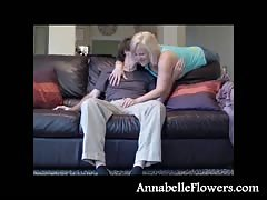 Busty milf Annabelle Flowers is getting fucked like a cowgirl Thumb
