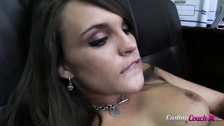Doll with deepthroat showing her superior oral skills! Thumb