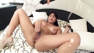 Chinese whore is loving his ebony pipe in precisely the flick by exactly the Monsters Of Dicks Thumb