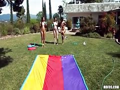 Outdoor blowjob by my lovely lustful ex-girlfriends! Thumb