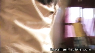 Certainly harmless Brazilian bitch offers a violent deep rough blowjob Thumb