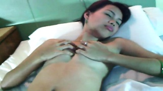 Enormously slutty Teen Filipina hotty likes hard tool in her wooly box Thumb