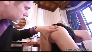 Impressive young gf is being inserted into hard in her tight hole Thumb