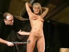 Bizarre caning to tears and hardcore spanking of crying Crystel Lei Thumb
