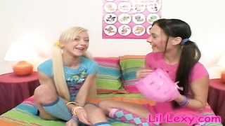 Good-looking harmless teen Lil Lexy will get a very best cunnilingus Thumb