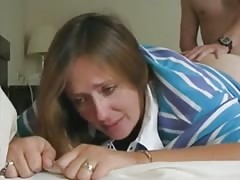 Mommy keeps crying all throughout first anal attempt Thumb
