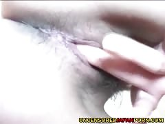 Uncensored Japanese Amateur Porn Hairy pussy and cock suckin Thumb