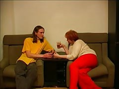 Elegant redhead russian mom is is getting fucked by a teenager Thumb