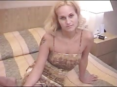 Not very young but really horny blonde hottie fucked on the casting Thumb