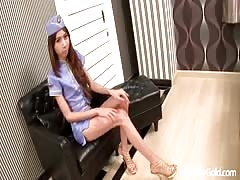 Thai ladyboy Crystal first class lounge Thumb