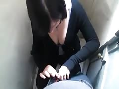 Gothic amateur blowjob on toilet Thumb