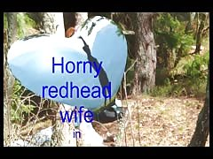 horny redhead swiss wife outdoor strip and fuck Thumb