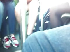 arab teen upskirt in bus Thumb