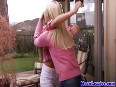 Lesbian teens Alli Rae and Cassidy Klein fuck Thumb