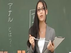 Teacher Ren Azumi gives Anal Lesson-by PACKMANS Thumb