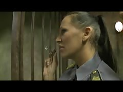 MILF prison guard and teen prisoner with oldmen Thumb