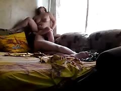 Good old homemade action with a chubby Russian milf Thumb