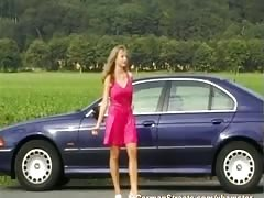 young german teen pickup for extreme DP Thumb
