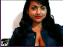 Hot Indian Girl Anjali Showing Boobs and Fingering Pussy on webcam for Boyfriend(1) Thumb