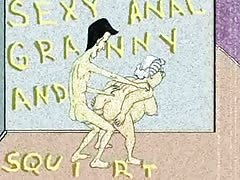 Sexy Anal Granny and Squirt! Animation! Thumb
