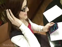 MILF Librarian Punishes TS Delinquent Thumb