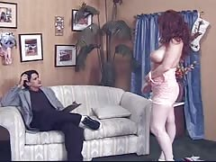 Redhead mature is getting pounded in her tight hole Thumb