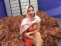 Indian whore sucking this juicy loaded wiener in the bedroom Thumb