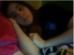 Big titied girl flashes bra,boobs, and thong on Omegle Thumb
