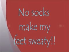 No Socks Make My Feet Sweaty Thumb