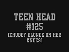 Teen Head #125 (Chubby Blonde on her Knees) Thumb