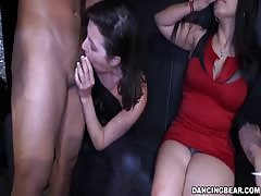 Stripper with huge dick is banging their innocent faces Thumb