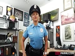 This strict female policeman will punish my sex mashine in office Thumb