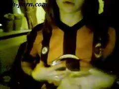 AC Milan girl on webcam - flash-porn.com Thumb