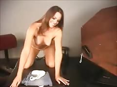 Long Haired Brunette Pussy Domination Thumb