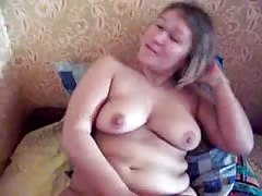 Busty tanned BBW slut is getting screwed in her little snatch Thumb