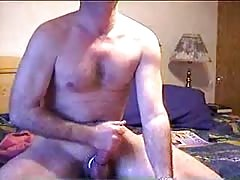 Straight daddy jerking off Thumb