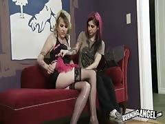 Two punks girls want to fuck in the clip by Burning Angel Thumb