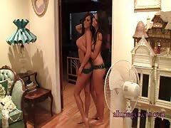 Stunning girls couple in the scene by Alluring Vixens Thumb