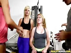 Two big-ass sluts shows their boobs in the scene by Money Talks Thumb
