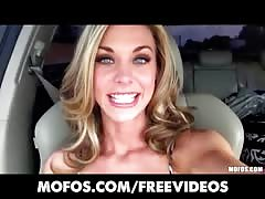 Mofos - Beautiful blonde babe goes shopping for new sex-toys Thumb
