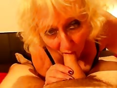 Claire Knight extreme blowjob Gargles huge load of cum Thumb