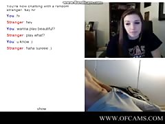 Omegle chick flashes penis1up virgem ch Thumb