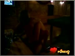 Skinny amateur beauty is jumping on her boyfriend's dick Thumb