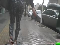 most perfect ass maybe? trully amazing.Hidden cam.Yoga pants Thumb