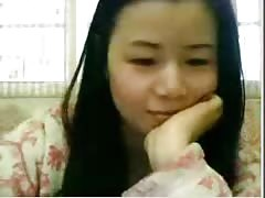 Chinese housewife showing tits and hairy armpit on webcam Thumb