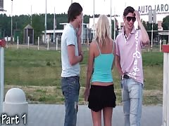 Teenagers PUBLIC gangbang in the street Part 1 Thumb