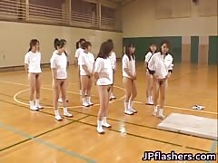 Super hot Japanese girls flashing part4 Thumb