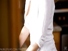 Nubile Films - Sexy blonde banged just right Thumb